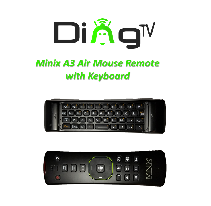 Replacement Minix Neo A3 Air Mouse Remote Dingtv